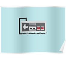8-Bit NES Controller Poster Poster
