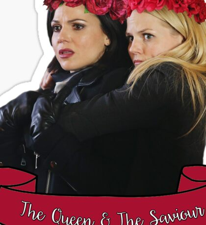 SwanQueen - The Queen and The Saviour Sticker