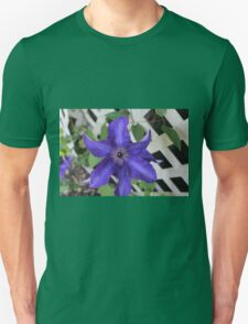 Purple Clematis  Unisex T-Shirt