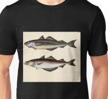 Naturgeschichte in Bildern mit erläuterndem Text E Strack 1820 Lief 4 Fish 029 Unisex T-Shirt