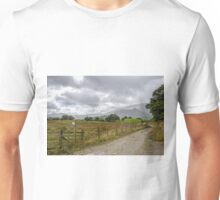 Follow the fence from Little Langdale to Elterwater Unisex T-Shirt