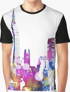 New York Skyline Graphic T-Shirt