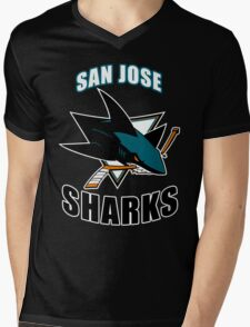 San Jose  Mens V-Neck T-Shirt
