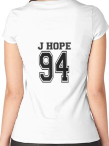 J Hope Jersey Women's Fitted Scoop T-Shirt