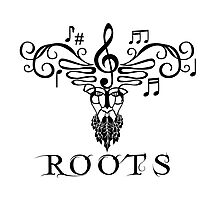 Roots Musical T-shirt Photographic Print