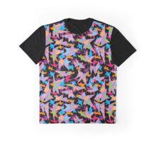 Fun Geometric Graphic T-Shirt