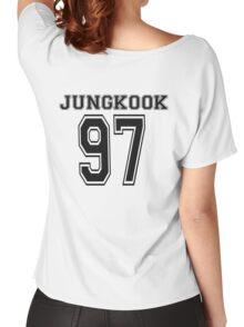 Jungkook Jersey Women's Relaxed Fit T-Shirt