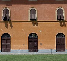Tre in Pisa by Peter Baglia