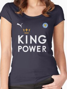 The Foxes - Leicester City Football Club - King Power Women's Fitted Scoop T-Shirt
