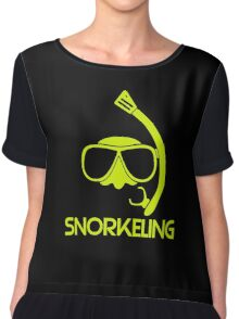 Snorkeling Diving Chiffon Top