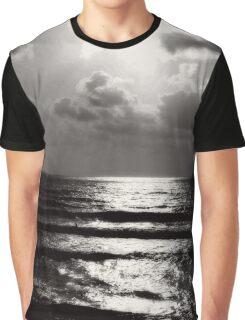 California Beach Graphic T-Shirt