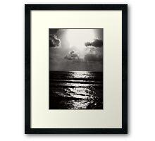 California Beach Framed Print