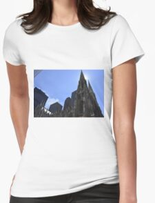 Church in New-York City Womens Fitted T-Shirt