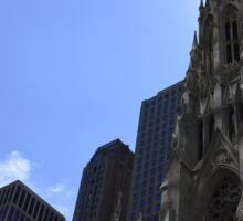 Church in New-York City Sticker