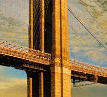 Bridge Restoration. Sticker