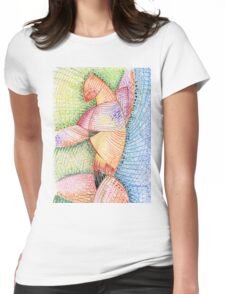 what's that shape Womens Fitted T-Shirt
