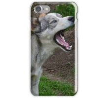 Waking Up Yawning iPhone Case/Skin
