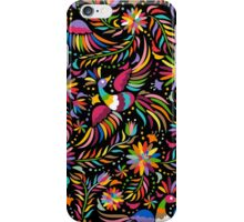 Mexican black pattern iPhone Case/Skin
