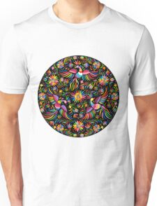 Mexican black pattern Unisex T-Shirt