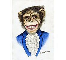 chimp the pimp Photographic Print