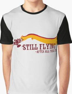 """Still Flying"" - Joss Whedon's Serenity - Dark Graphic T-Shirt"
