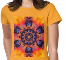 Windmill Mandala Womens Fitted T-Shirt