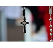 Rosary Crucifix Photographic Print