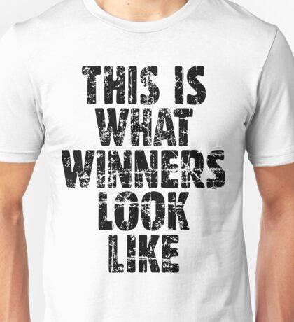 This is what winners look like (Vintage Black) Unisex T-Shirt