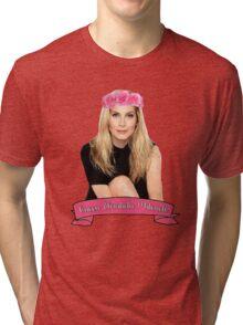 Elizabeth Mitchell - Queen Tri-blend T-Shirt