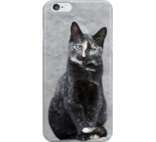 Tortoise shell lady iPhone Case/Skin