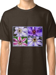 Clematis Collage Classic T-Shirt