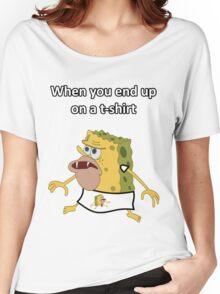 Primitive Sponge Women's Relaxed Fit T-Shirt