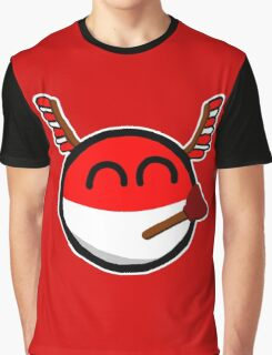 Polandball Graphic T-Shirt