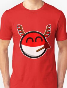 Polandball Unisex T-Shirt