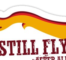 """Still Flying"" - Joss Whedon's Serenity - Light Sticker"