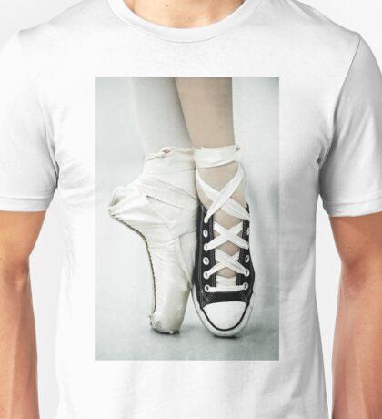 Converse / Pointe Shoe Unisex T-Shirt