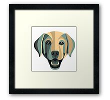 the dog art Framed Print