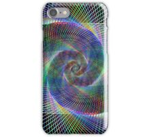 Spiral fractal iPhone Case/Skin