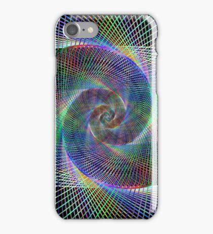 Spiral fractal iPhone Case/Skin