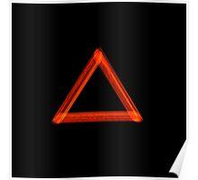 Fire Alchemy Symbol Poster