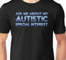 Autistic Special Interest - Blue Unisex T-Shirt