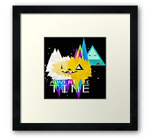 advanture time art Framed Print