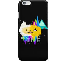 advanture time art iPhone Case/Skin