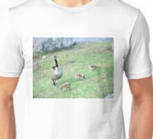 Goose and babies Unisex T-Shirt