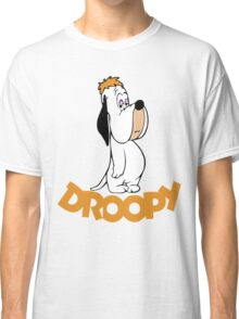 Droopy Cartoon Classic T-Shirt