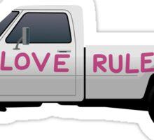 Brokeback Pickup Sticker