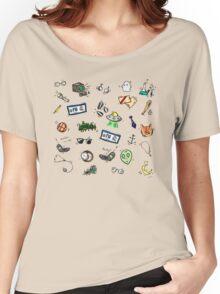 X Files Doodles Women's Relaxed Fit T-Shirt