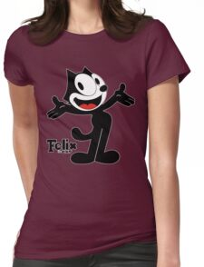 Felix The Cat Womens Fitted T-Shirt