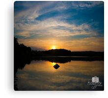 Serenity On The Lake Canvas Print
