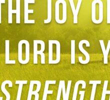 Nehemiah 8:10 Sticker